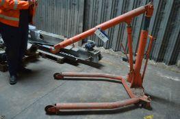 and Hydraulic Workshop Engine Crane Hoist (lot loc