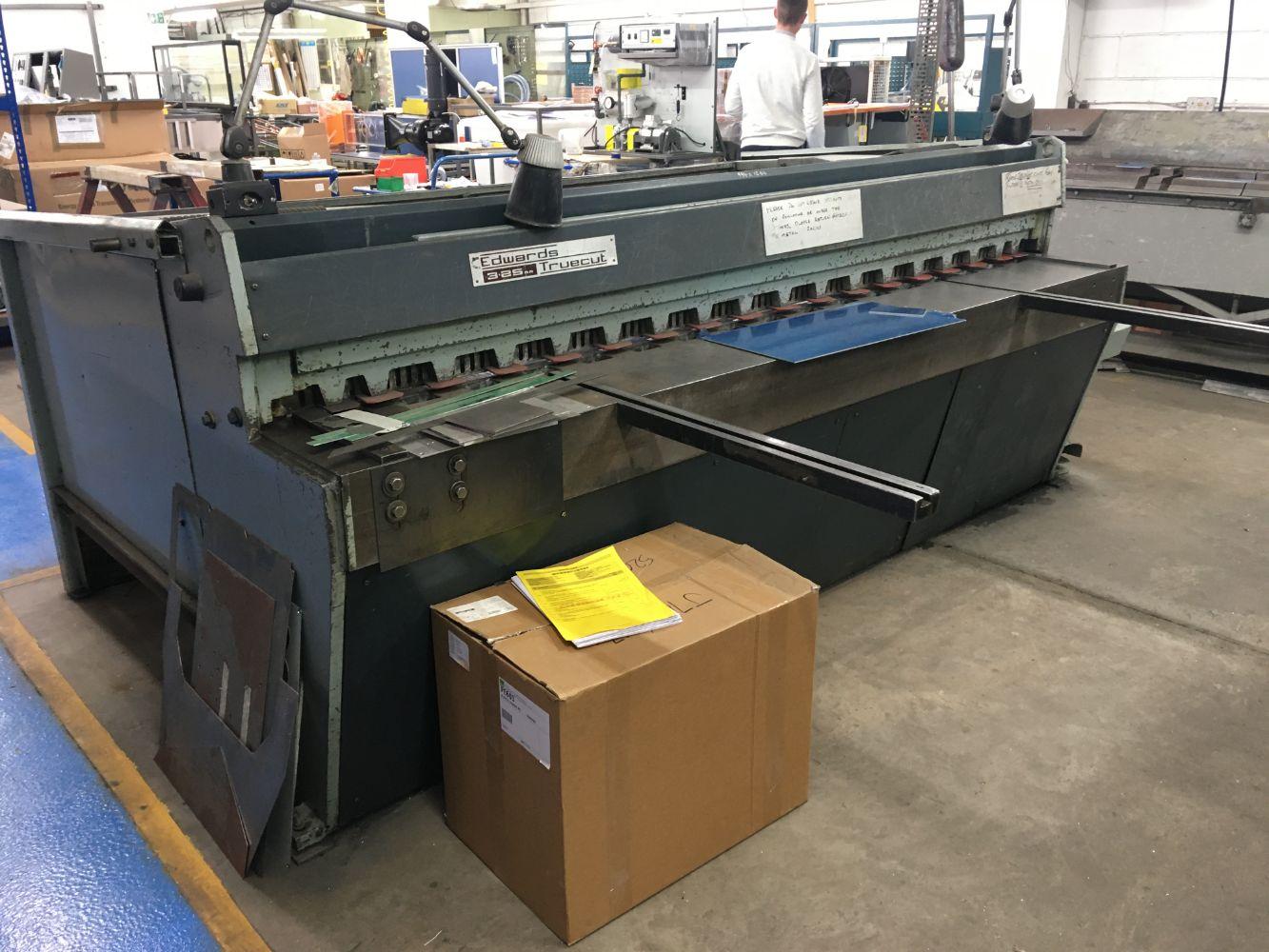 Machine Tools & Sheet Metal Working Equipment, Panel Van and Overhead Crane (circa 500 lots)