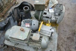 Electric Motors & Equipment on pallet
