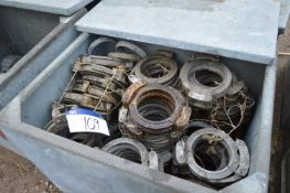 Mainly Alloy Joint Clamps, each approx. 200mm dia.