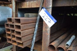 14 Lengths of Steel Section, each approx. 100mm x