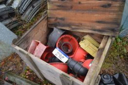 Plastic Pump Housings, with timber crate