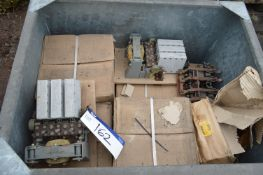 Assorted Electrical Contactors, as set out in stee