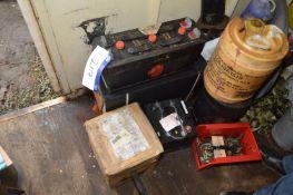 Three Lead Acid Batteries