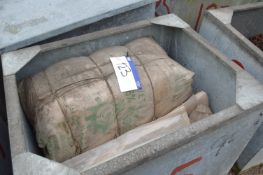 Mainly Fibre Sacks, including 650mm x 350mm, in st