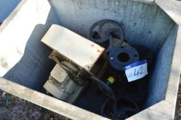 Assorted Valves & Steel Cased Centrifugal Fan, fit