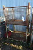 Two Steel Cage Pallets, each approx. 1.1m x 1m x 7