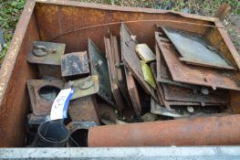 Assorted Doors & Stove Equipment, set out in box p