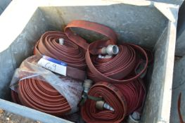 Lay Flat Hose, in steel chest, including 45mm (che