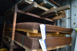 Approx. 15 Wire Mesh Sheets, approx. 1.22m x 2.45m