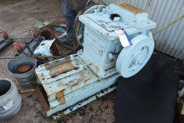 Booth Jaw Crusher, approx. 300mm x 300mm, with ele