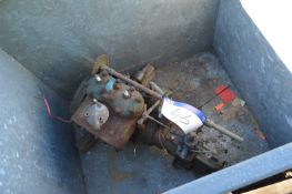 Stuart P55.MR Two Cylinder Petrol Engine, serial n