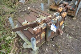 Seven Pairs of Fork Lift Truck Forks, as set out o