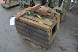 T Slotted Box Table, approx. 910mm x 600mm x 560mm