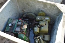 Lister-Petter Two Cylinder Diesel Engine, with Pet