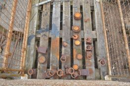 Assorted Weights, as set out in cage pallet (cage