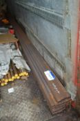28 Lengths of Steel Box Section, each approx. 40mm