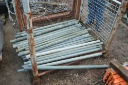 Approx. 26 GRP Interlocking Poles, each 1.1m long