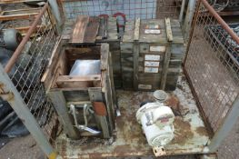 Contents of Steel Cage Pallet, understood to compr