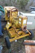 Selwood Mobile Pump Unit, with 80C pump and three cylinder diesel engine