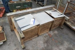 Timber Bench, approx. 1.8m x 600mm