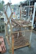 Assorted Tooling, in two cage pallets (cage pallet