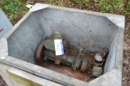 Stuart Gear Box Unit, in steel chest (chest exclud