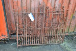 One Pair of Gates, each approx. 1450mm wide x 1070