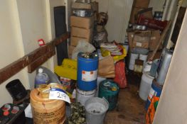 Residual Loose Contents of Cabin, including multip