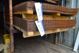 Approx. 26 Wire Mesh Sheets, approx. 1.22m x 2.45m