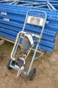 10kg MK2 CO² Fire Extinguisher Trolley