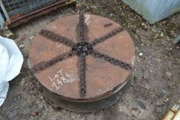 Rotary Table, approx. 870mm dia.