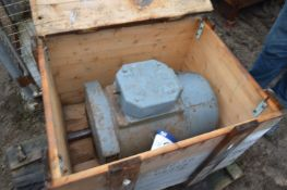 Stamford C20B 20kVA Alternator, 1500rpm, 240V, with timber crate