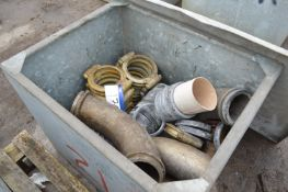 Assorted Pipe Jointing Rings & Equipment, in steel