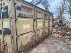 20ft Steel Cargo Container, with four side opening