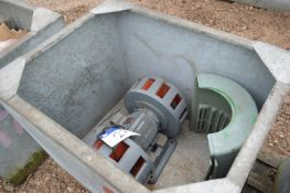 Siren, in steel chest, with GRP covers and three p