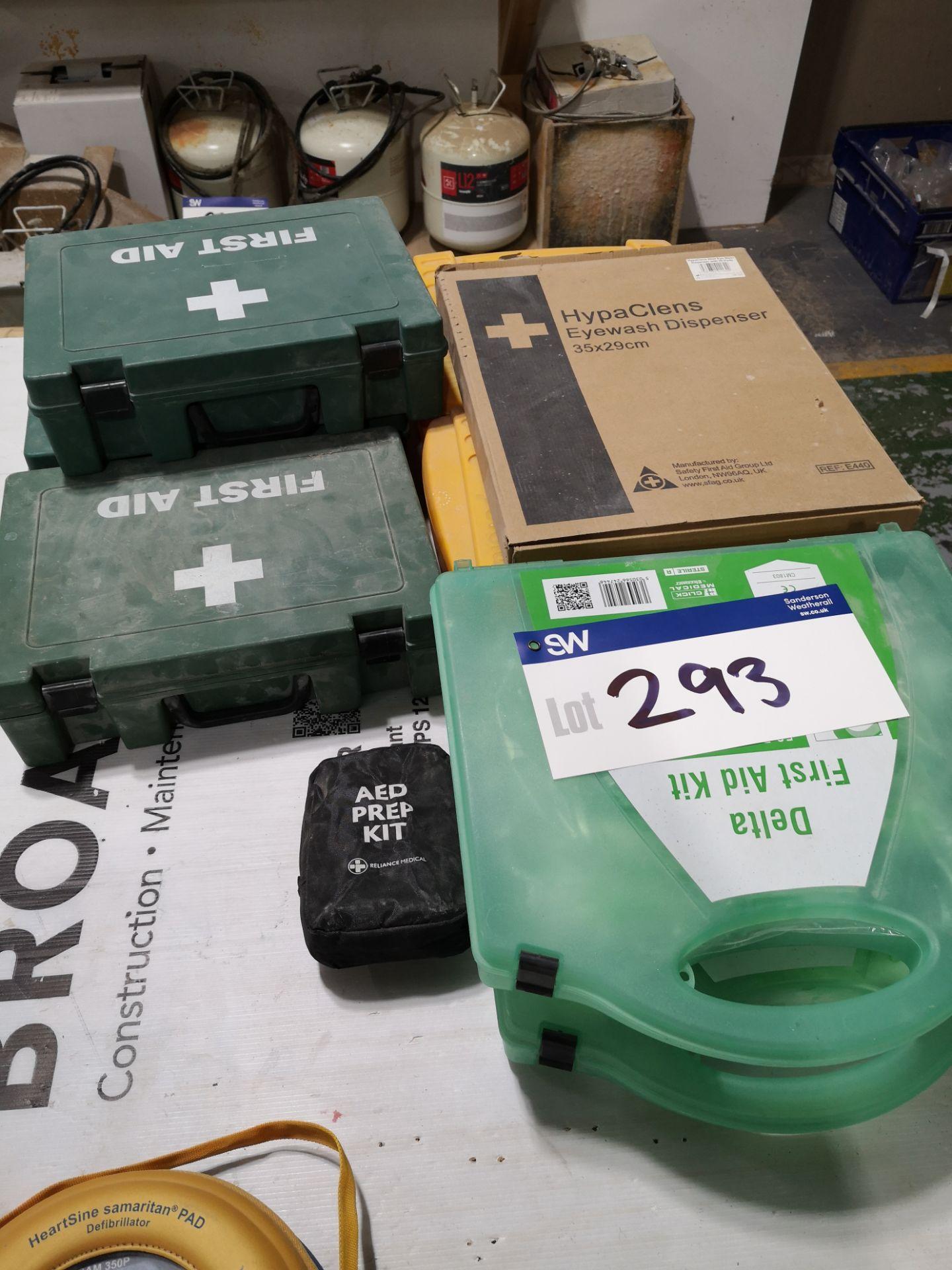 Lot 293 - Quantity of First Aid Kits/Bio Hazzard Kits