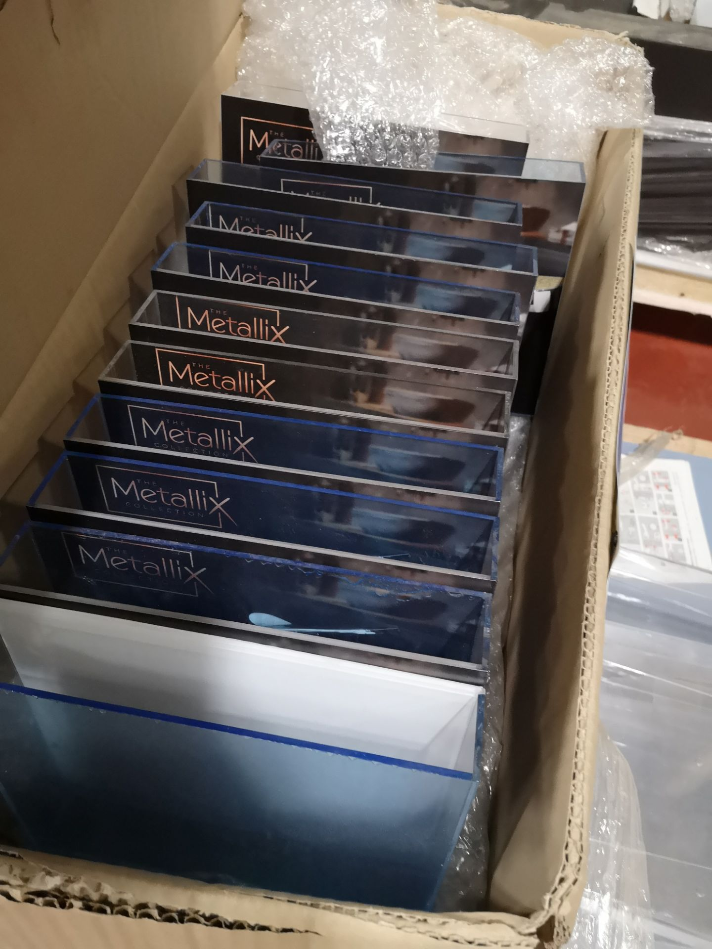 Lot 159 - Quantity of Advertising Leaflet Stands as Set Out on Pallet