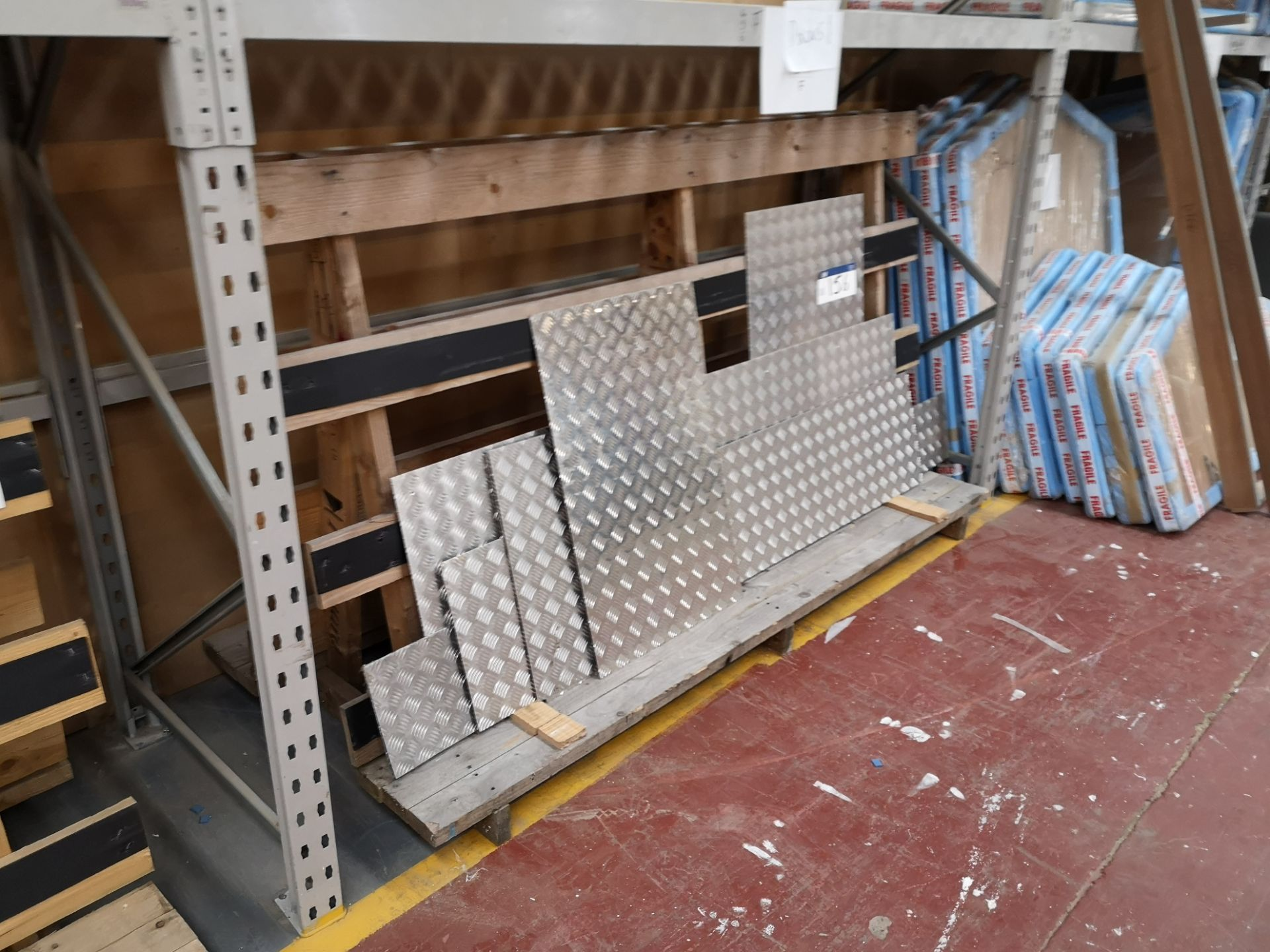 Lot 157 - 2 Wooden A Frame Racks