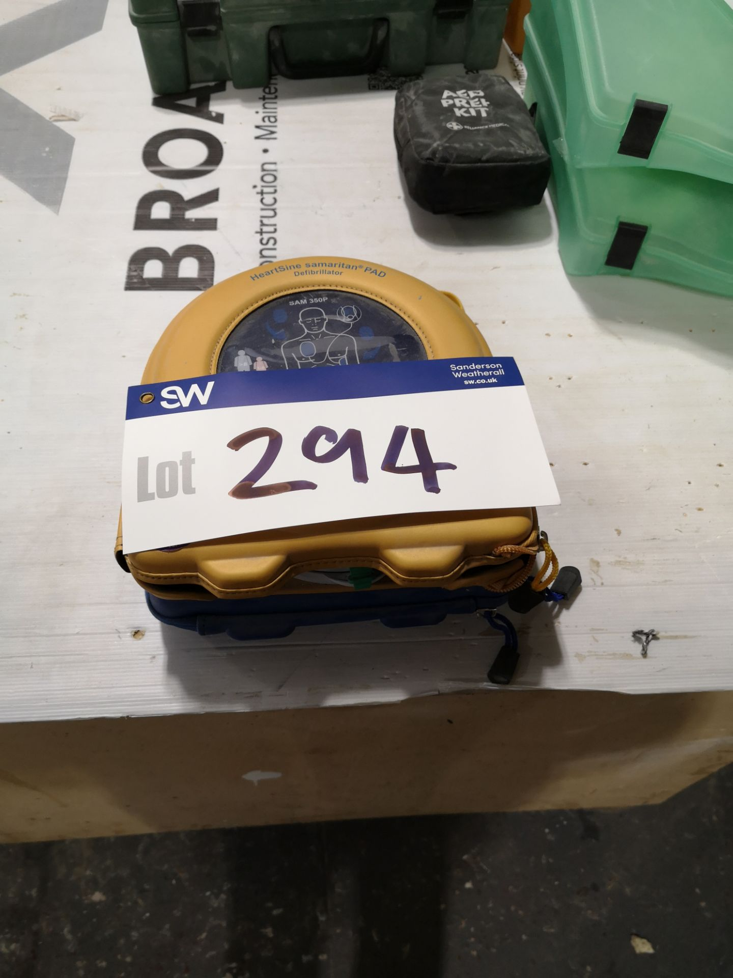 Lot 294 - Heartsine Samaritan PAD Defibrillator