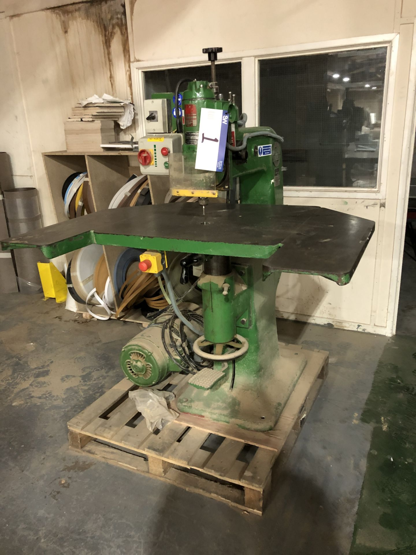 Lot 1 - Interwood OFN High Speed Router. Serial Number 1073. Year of Manufacture 1955. Complete with