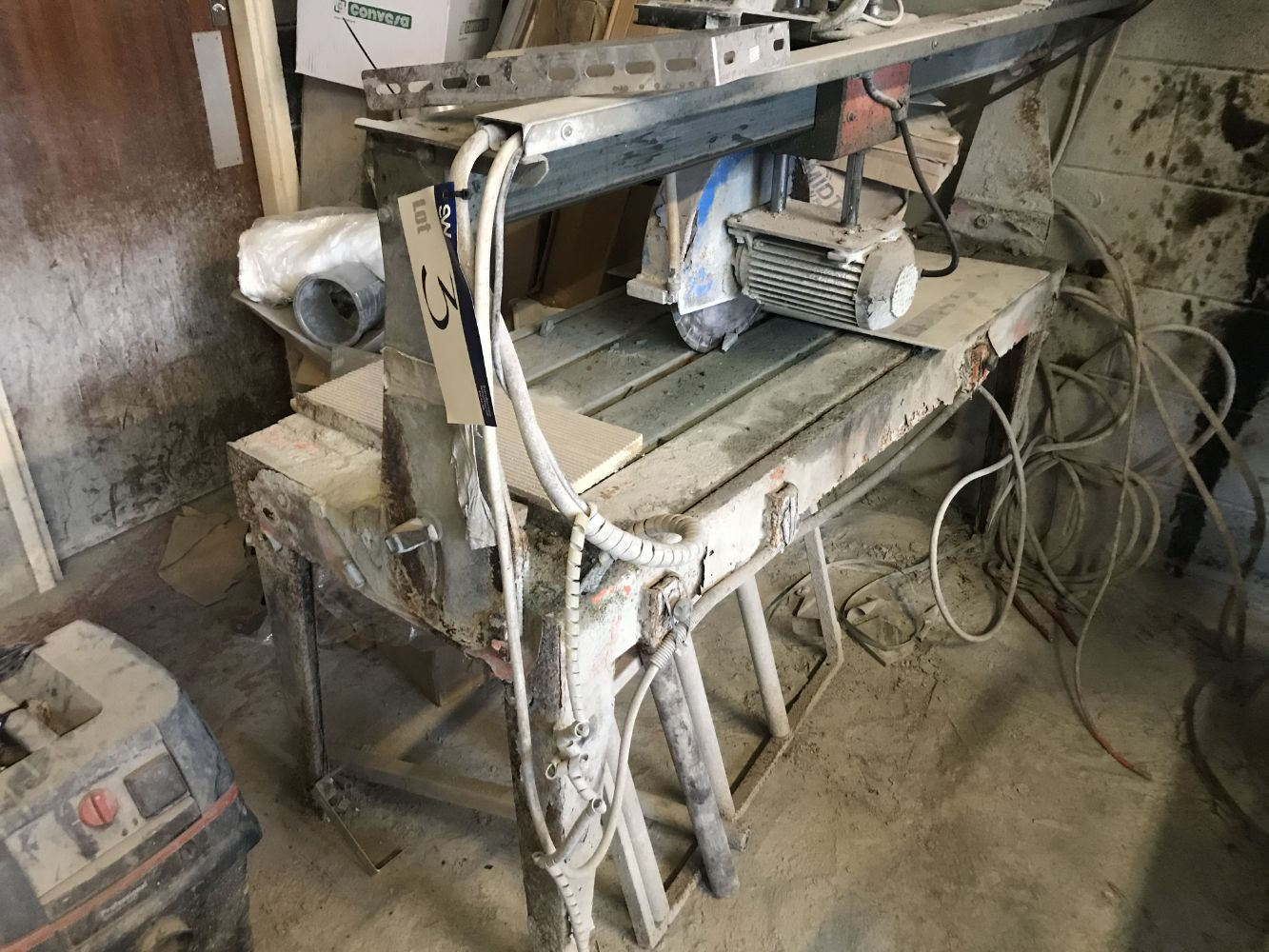 Memorial Stone Masonry Machinery, Workshop Equipment, Residual Stock, Commercial Vehicles and Fork Lift Truck