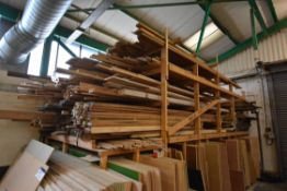 HARDWOOD & SOFTWOOD STOCK, mainly in top tiers of