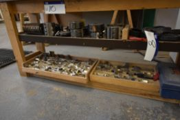 Assorted Cutter Blocks and Blades, as set out on s