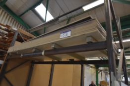 Approx. 11 Sheets Foil Faced MDF, approx. 3050mm x