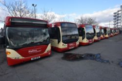 Fleet of 50 Single Deck Buses, Commercial Garage & Workshop Equipment, Coin Counting Machine, Office Furniture & IT Equipment