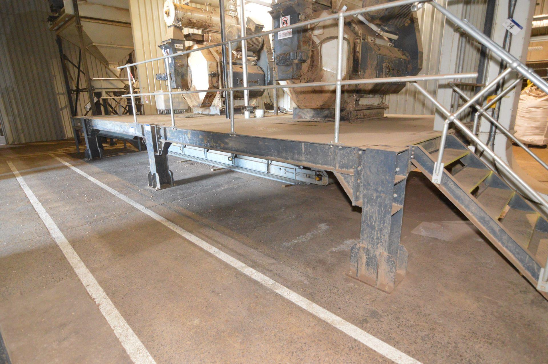 Lot 15 - Bolted Steel Mezzanine Floor / Plant Entablature,