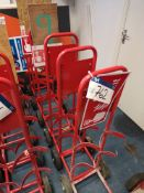 Six Mobile Fire Extinguisher Stands (LOT LOCATED A