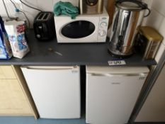 Toaster, Microwave, Water Boiler & Two Under The C
