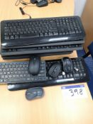 Quantity of Wireless Keyboards & Mice (LOT LOCATED